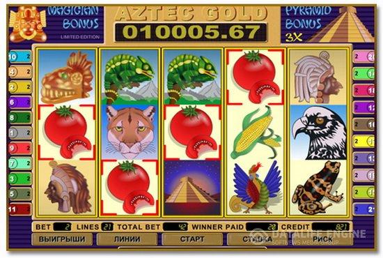 Игровой автомат Золото Ацтеков играть бесплатно в онлайн